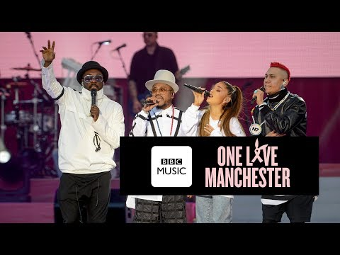 Black Eyed Peas and Ariana Grande  Where Is The Love One Love Manchester