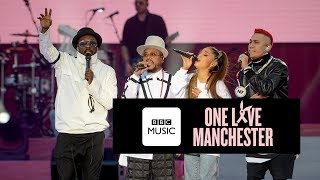 Black Eyed Peas and Ariana Grande perform Where Is The Love at One ...