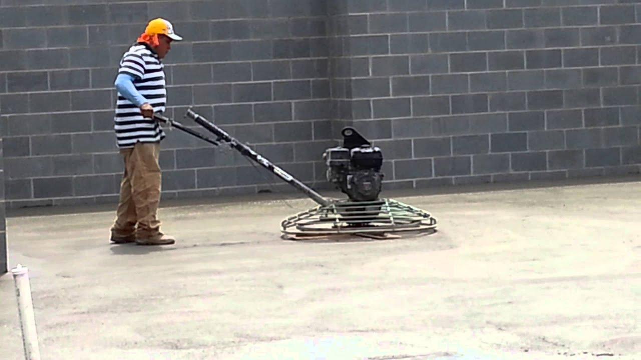 concrete finisher machine