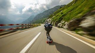 Raw Run    Mountain Pass in Switzerland