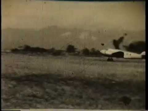 Earhart's takeoff from Lae, New Guinea