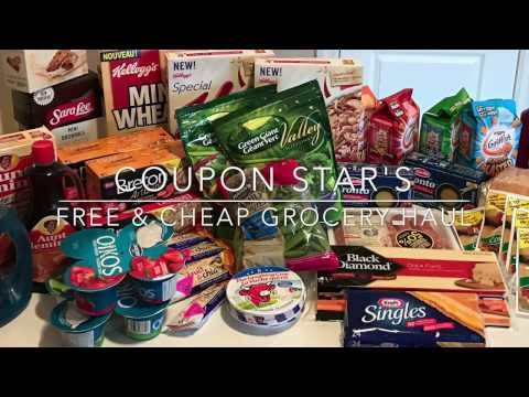 FREE & CHEAP GROCERY HAUL – NOV 25th 2016 – COUPONING IN CANADA!