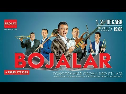 Bojalar SHOU 2017 - 50 kulgu 50 qo'shiq nomli konsert dasturi 2017 #UydaQoling