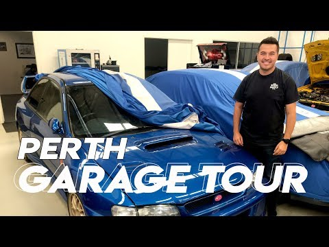 MOTORSPORT GARAGE TOUR PERTH AUSTRALIA