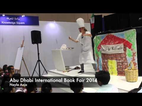 Abu Dhabi International Book Fair 2014 - (Nayla Aaja) French Version