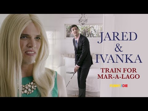 Jared Kushner and Ivanka Trump Train For Mar-a-Lago