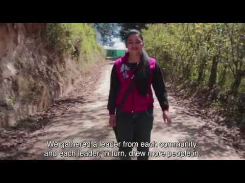 Building protection by empowering people in Guatemala