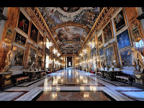 Galleria Colonna - Rome Private tour - original music - RusRim Rome car tours