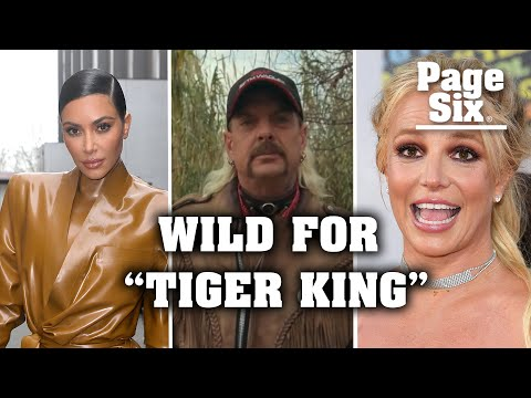 Netflix's 'Tiger King' has captured Kim Kardashian, Britney Spears & more | Page Six Celebrity News