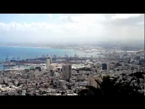 Israel,Haifa -view from Mount Carmel