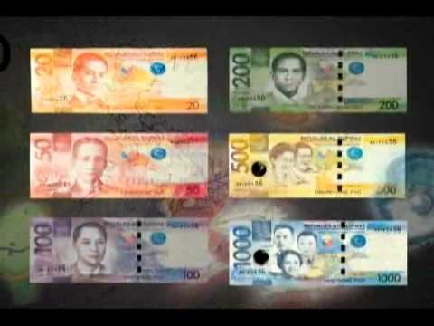 New 2010 Philippine banknotes