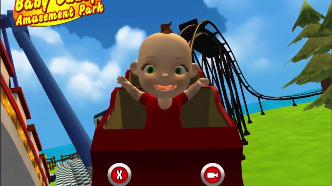 baby babsy amusement park 3d fun games for children babies and