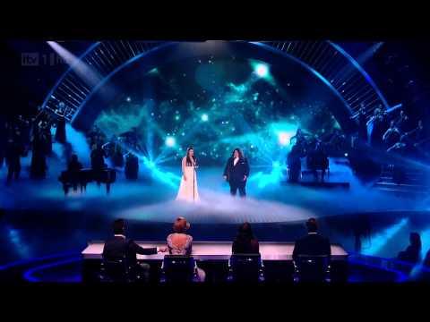 Britain's Got Talent 2012 Jonathan Antoine & Charlotte Jaconelli  Final HD