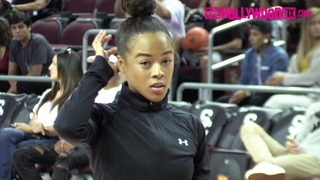 Celebrity basketball game video