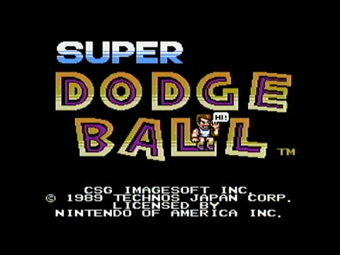 Super Dodge Ball - NES Gameplay