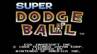 Super Dodge Ball - NES Gameplay