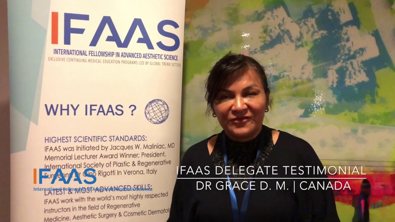 IFAAS Delegate Testimonial - Dr  Grace D  M  | Canada