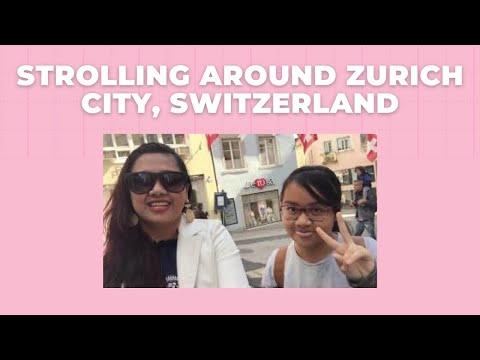 Strolling Around Zurich City, Switzerland