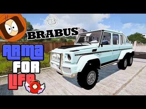 DUBAÏ : BRABUS MERCEDES G63 AMG 6X6 ! | ARMA FOR LIFE