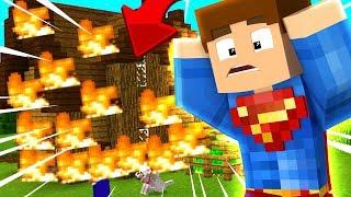 Minecraft Zgraja - KTOŚ SPALIŁ MI DOM!!!!! #11