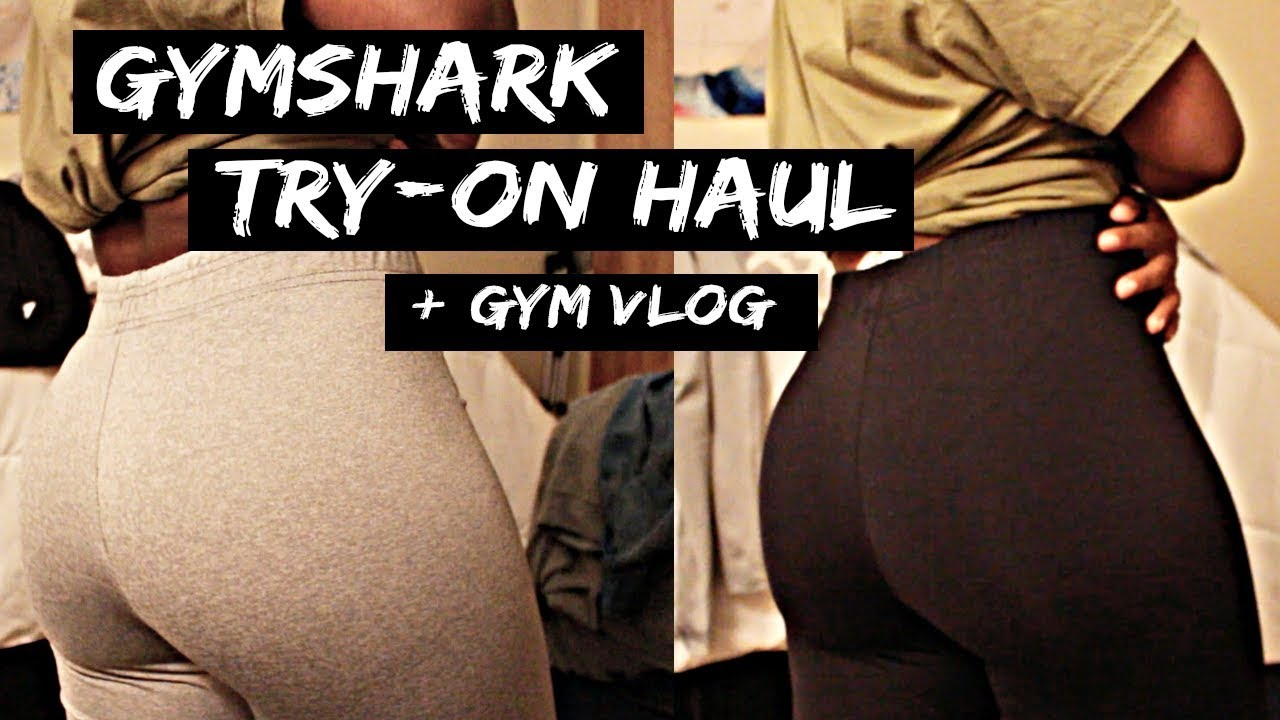 1794ab9fde107 Gymshark Try-On Haul | First Impressions // NEW Gym Gear + Vlog ...