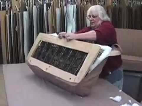 LeBaron Bonney  How to Upholster a Seat Spring Part 1