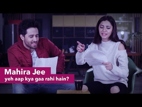 Famous Pakistani Songs with Google Translate   Mahira & Haroon   Patari Funkariyaan