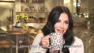 Courtney Cox habla de la temporada 2 de Cougar Town (Subtitulado)