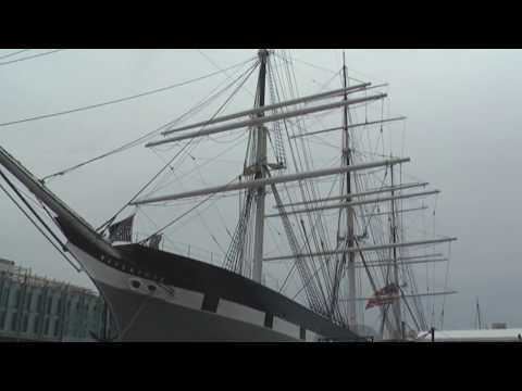 Wavertree 19th Century Sailing Ship Displayed At South Street Harbor Museum Area, New York