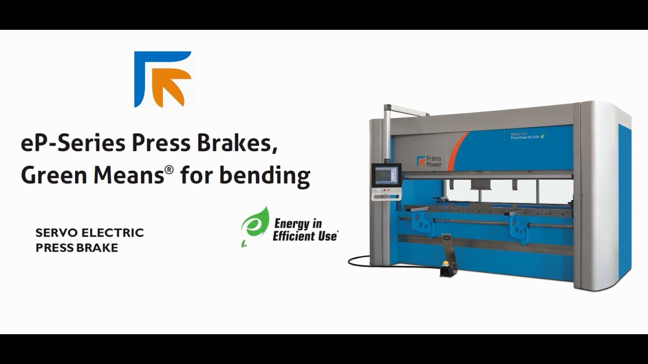 Prima Power eP Power Consumption vs Hydraulic Press Brake for CNC