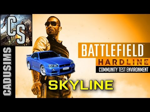 CTE NEWS - Skyline no Battlefield Hardline {IMPORT TUNER}