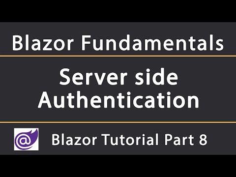 How to add Authentication in Server-side Blazor   Blazor