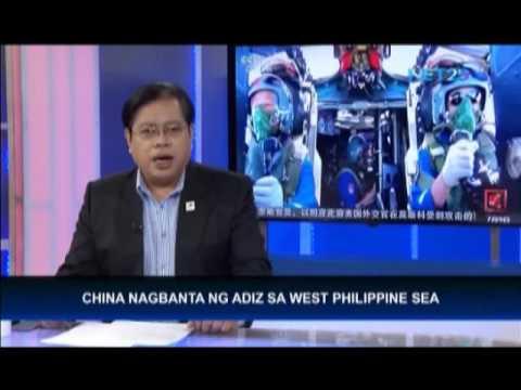 China nagbanta ng ADIZ sa West Philippine Sea