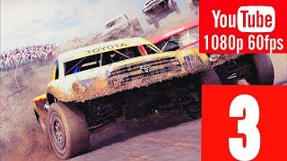 DIRT 3: COMPLETE EDITION - WALKTHROUGH NO COMMENTARY - PART 3 - GAMEPLAY PLAYTHROUGH