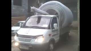Вот так у нас перевозят сотовый поликарбонат.(, 2013-04-03T17:30:56.000Z)
