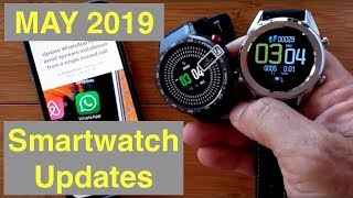 May 2019 Smartwatch Updates: What's happening with LEM9, DT28, WhatsApp and More