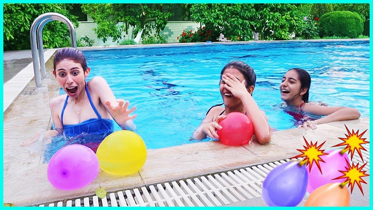 Su Topu Savaşı Havuz Oyunları Yarışmalar Dila Kent