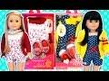 Our Generation Outfit Sets on American Girl AG Dolls - Jumping For Joy & Hip To Be Square