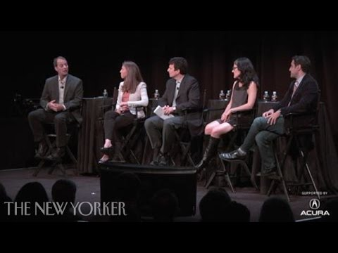 A discussion on in-depth journalism - The New Yorker Festival