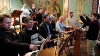 Херувимская песнь. Валаамский хор. Неделя 4- я Великого поста