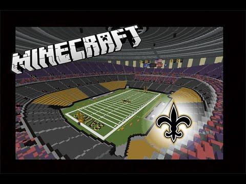 mercedes benz stadium minecraft. Minecraft Mercedes Benz Superdome: Saints (Download) Stadium D