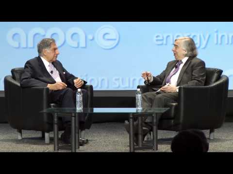 Fireside Chat with Secretary Ernest Moniz and Ratan Tata