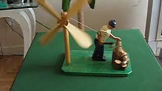 Whirligig Wood Chopper Whirligig