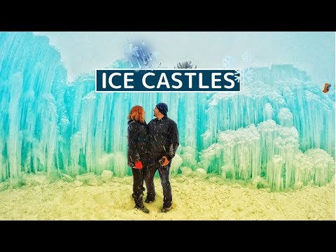 Ice Castles Midway Utah | With Tips For A Great Experience | Utah Travel Vlog