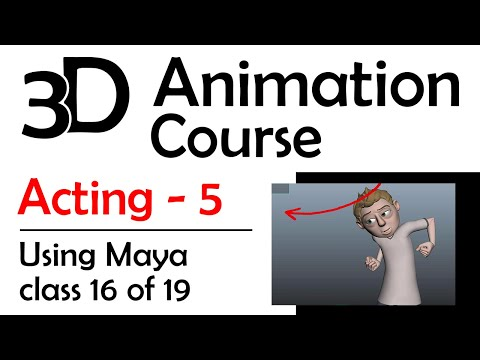 Maya Acting 5: Lipsync Dialogue And Gestures
