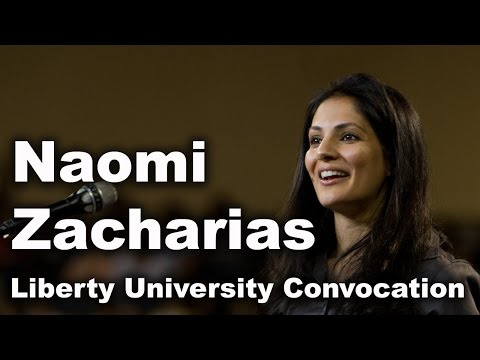 Naomi Zacharias - Liberty University Convocation