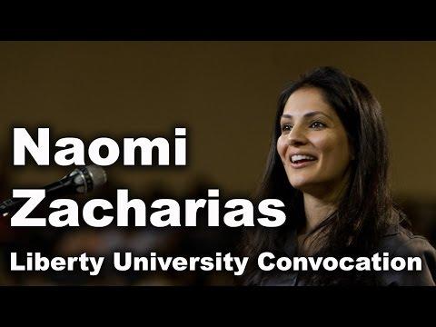 Naomi Zacharias - Liberty University Convocation