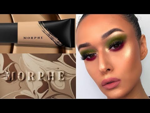 NEW MORPHE FOUNDATION & CONCEALER!| TESTING & REVIEW