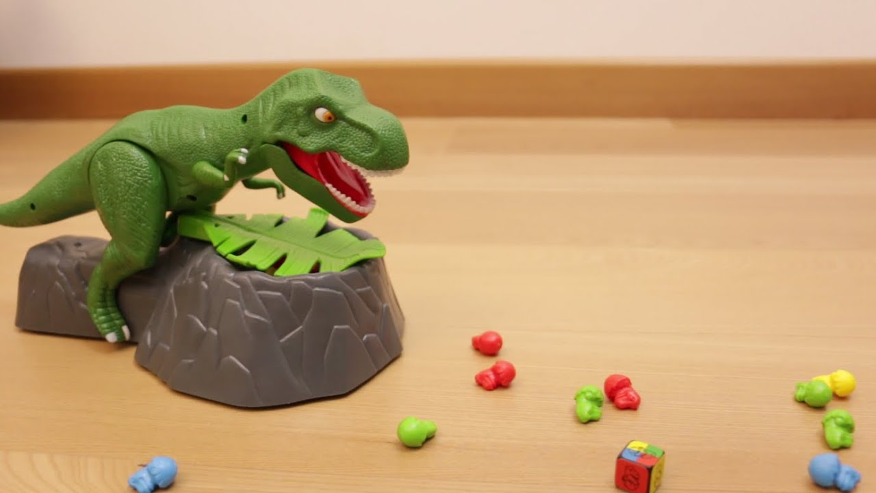 Dino Attack Il Gioco In Scatola Del Dinosauro Che Ti Attacca Youtube