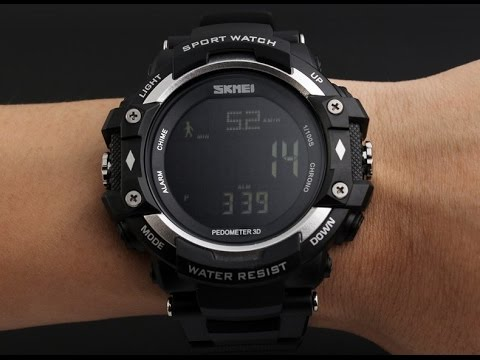 08257eb7 Спортивные часы SKMEI 1180 c пульсометром (Black)